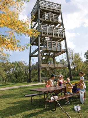 Lapham Peak State Park in Delafield offers a great picnic spot in Lake Country.