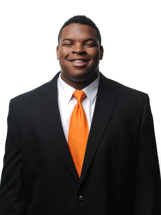 KNOXVILLE, TN - Football Headshots