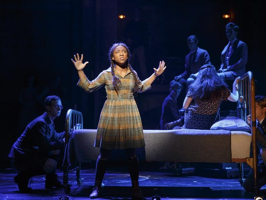 Treshelle Edmond plays Martha, whose father beats her