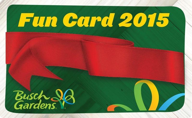 Busch Gardens Williamsburg Fall Fun Card Promo Code