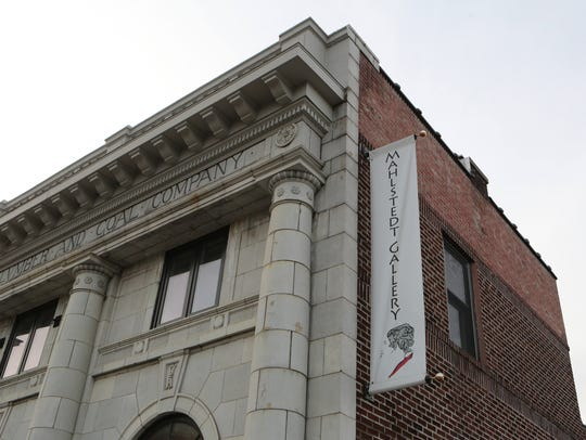 The Mahlstedt Gallery on Huguenot Street in New Rochelle.