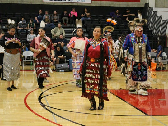 The 25th annual Spring Powwow opens at noon April 14 at Apollo High School.