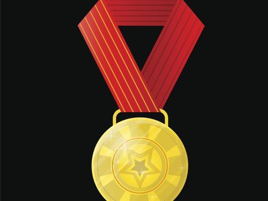 Award Vector illustration isolated on white background
