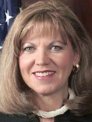 Former Pennsylvania Supreme Court Justice Joan Orie