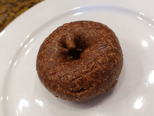 Chocolate cake doughnut from Bosa Donuts in Phoenix,