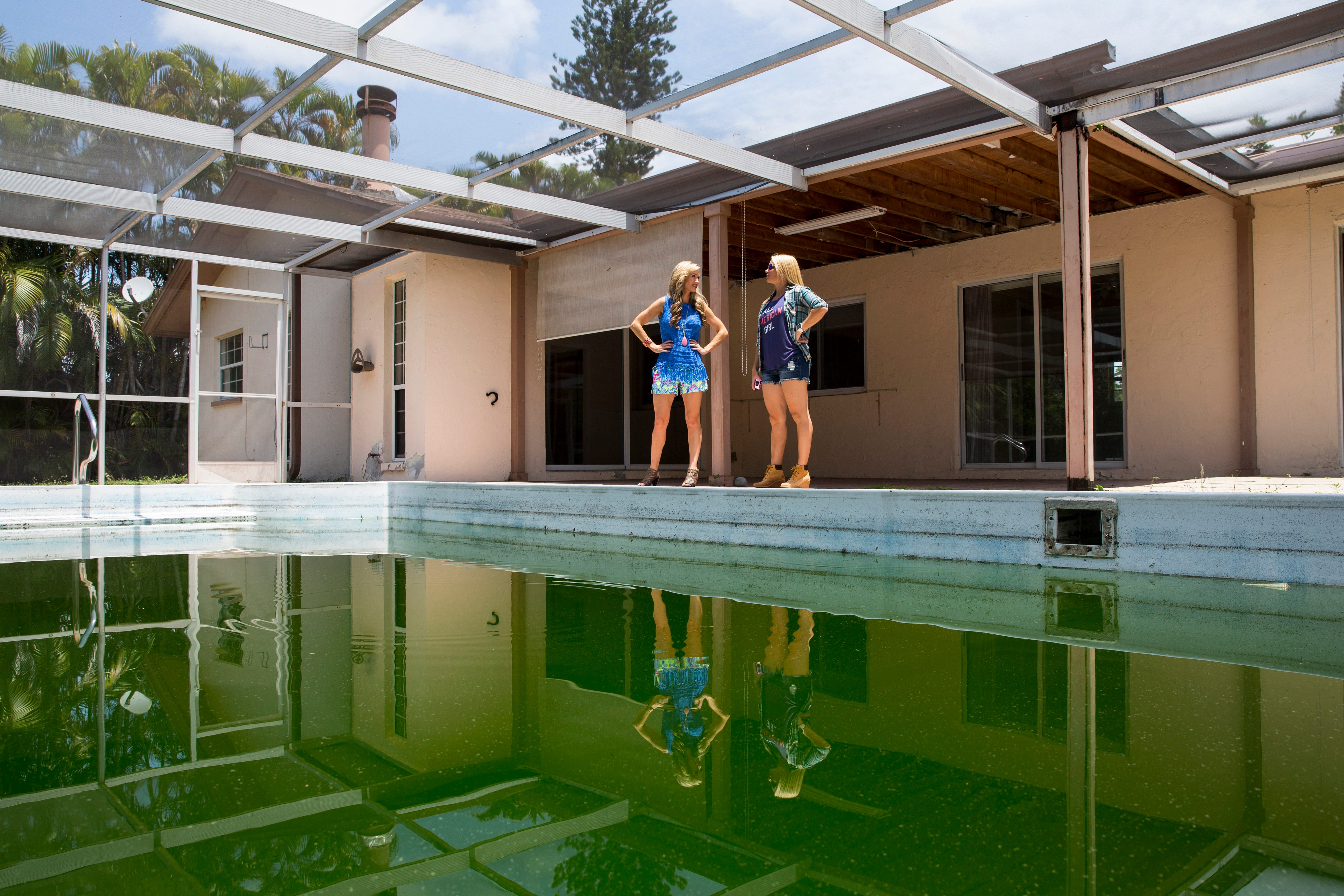 2 women see potential in flawed houses in Naples area fix flip them