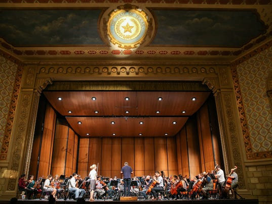 San Angelo Symphony in the Murphey Performance Hall
