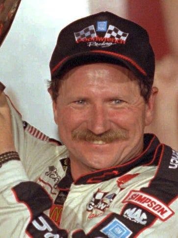 Dale Earnhardt won seven championships in NASCAR's