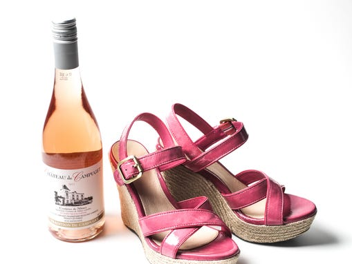 May TTD Wine and Shoes