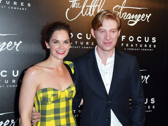"""The Little Stranger"" stars  Ruth Wilson and Domhnall"
