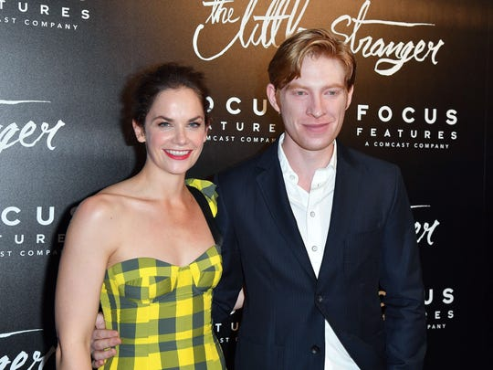 """""""The Little Stranger"""" stars  Ruth Wilson and Domhnall Gleeson attend the film's premiere on Aug. 16, 2018,  in New York City."""