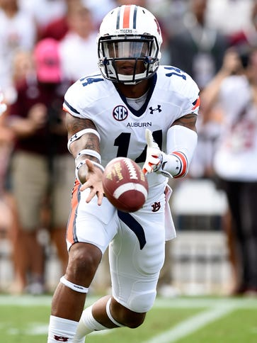 Nick Marshall and No. 4 Auburn travel to Oxford to
