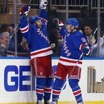 The Rangers' new No. 1 line: Miller, Brassard, Fast