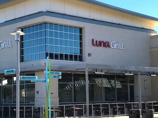 Luna Grill will open its first Ventura County location March 3 at The Collection at RiverPark in Oxnard. The debut will follow reservation-only staff-training lunch and dinner service sessions March 1-2.