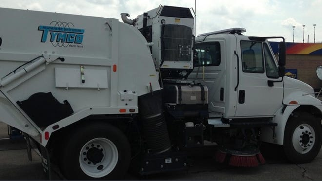 The Portland City Council unanimously approved Monday, June 1, to purchase a 2017 Tymco 600 Street Sweeper for $224,400.