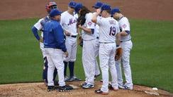Apr 22, 2017; New York City, NY, USA; New York Mets
