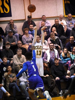 Elco defeated Steel-High 80-58 at home Tuesday night, Feb, 16.