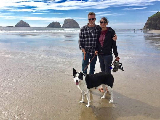 Brett and Betsy Miller and their dog Maybe have been spending months traveling around the nation engaging in dialogues to seek perspectives and answer the questions of what divides our society -- and what can unite it.
