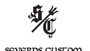 The Severns Custom business logo. The Mt. Juliet gunsmith business offered a $300 sponsorship to the Mt. Juliet High girls soccer team.