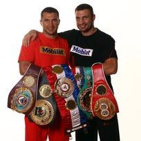 Klitschko brothers still fighting for title, as well as country