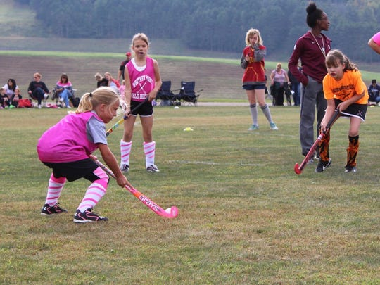 The Whitney Point youth field hockey tournament took