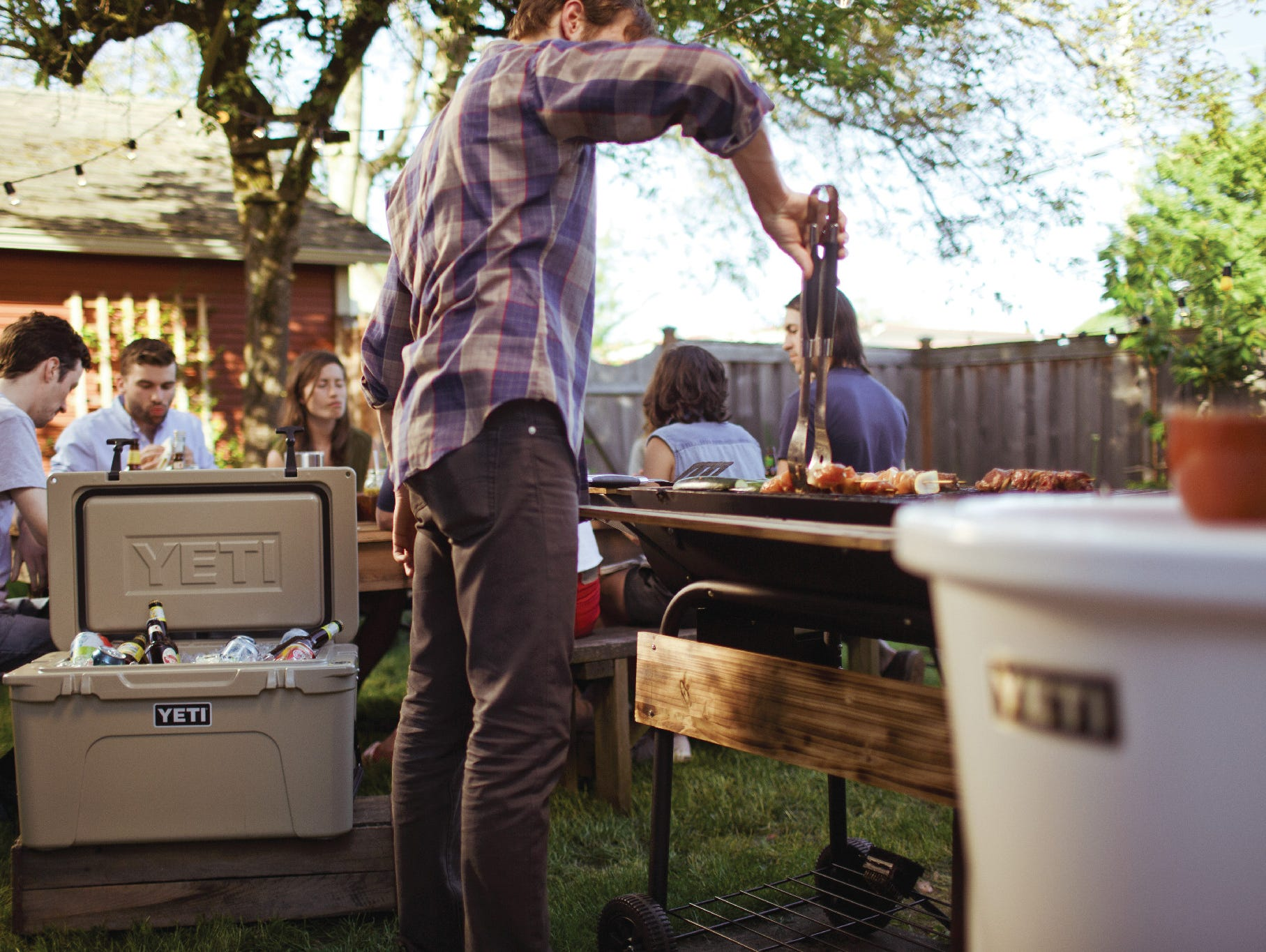 Win a YETI Cooler plus Colsters and stay chill this summer.  Enter 5/22 - 6/25.