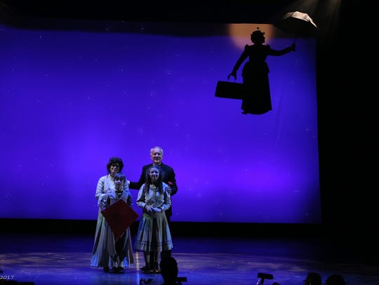 "Disney's ""Mary Poppins"" will run through Aug. 12 at"