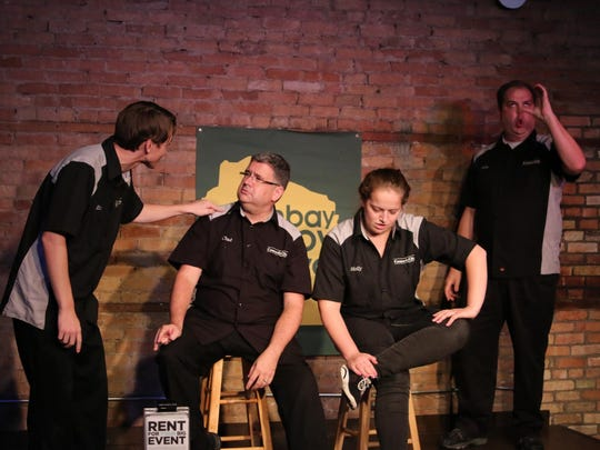 Comedy troupes from across the state as well as Chicago, Los Angeles and Minneapolis will show off their skills during this weekend's Green Bay Improv Festival at The Green Room Lounge in De Pere.