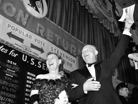 In 1952, Republican Dwight D. Eisenhower was elected