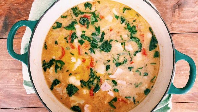 Thai Green Pork Curry.