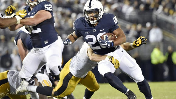 Saquon Barkley shredded Iowa's defense last fall in