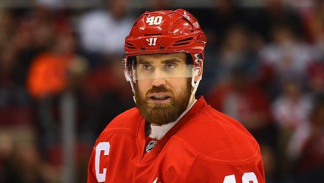 Detroit Red Wings left wing Henrik Zetterberg.