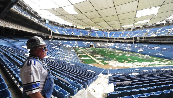"""Michigan legislation that would allow developers to capture a portion of new tax revenues generated by """"transformational"""" redevelopment projects could jumpstart plans for the long-vacant Pontiac Silverdome, Mayor Deirdre Waterman said Thursday."""
