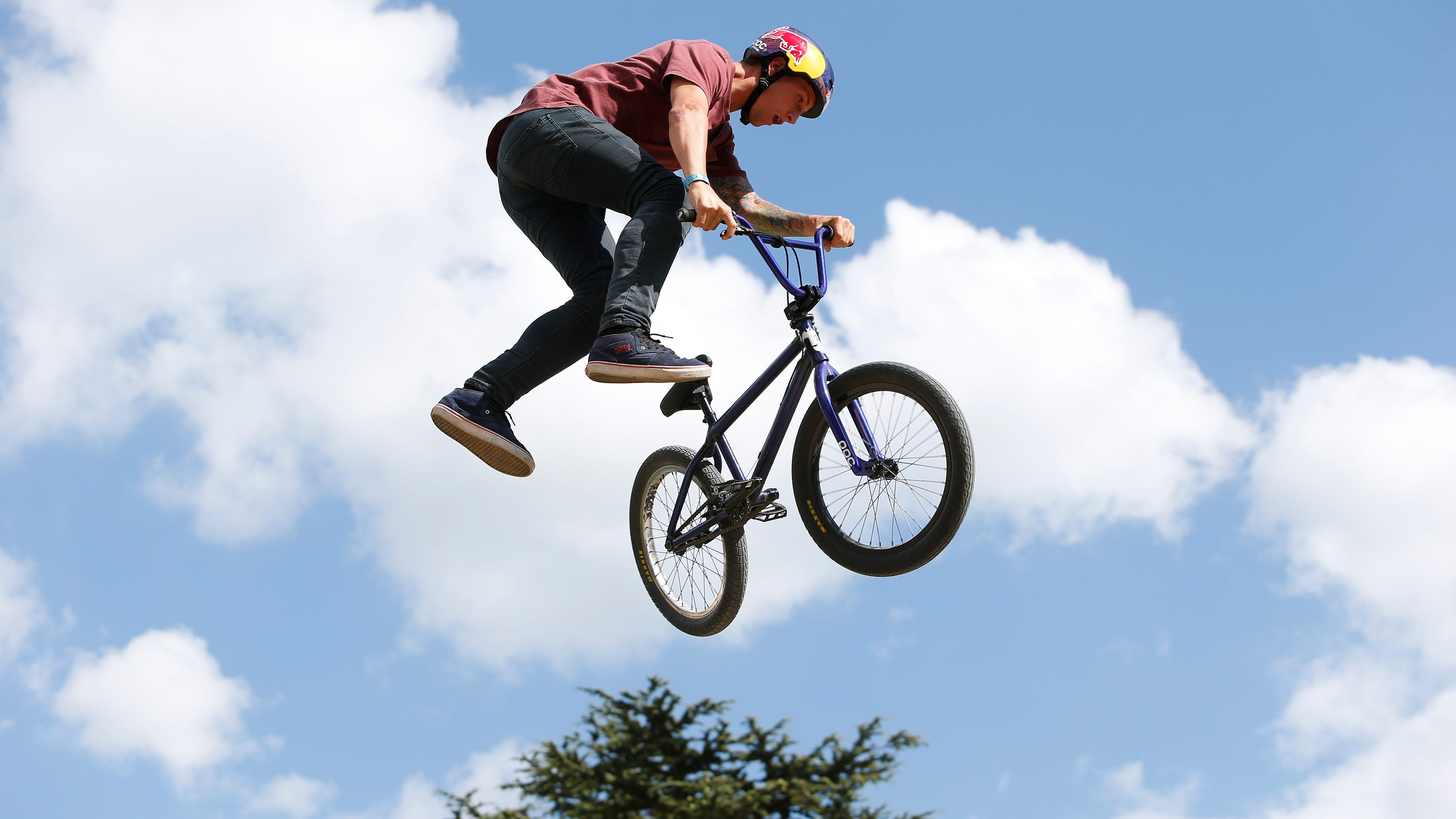 Asheville Citizen Times >> BMX riders bring tricks and flips to WNC
