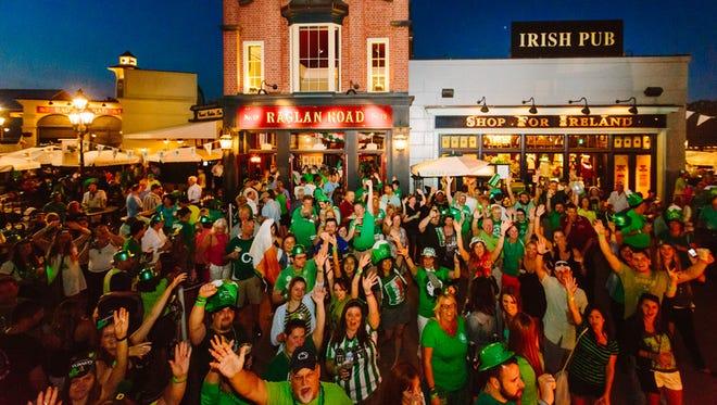 Raglan Road at Disney Springs will celebrate St. Patrick's Day the authentic Irish way.
