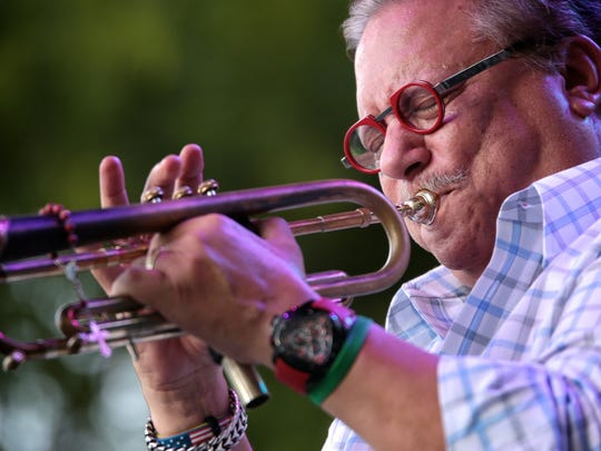 Cuban-born trumpeter Arturo Sandoval will perform at the Palm Springs International Jazz Festival in Palm Springs, Calif. on Nov. 23, 2019.