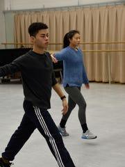BFA dancers Joseph Picciotto of Teaneck and Margaret