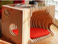 The K9 Couch by CREO Architects can serve as an end