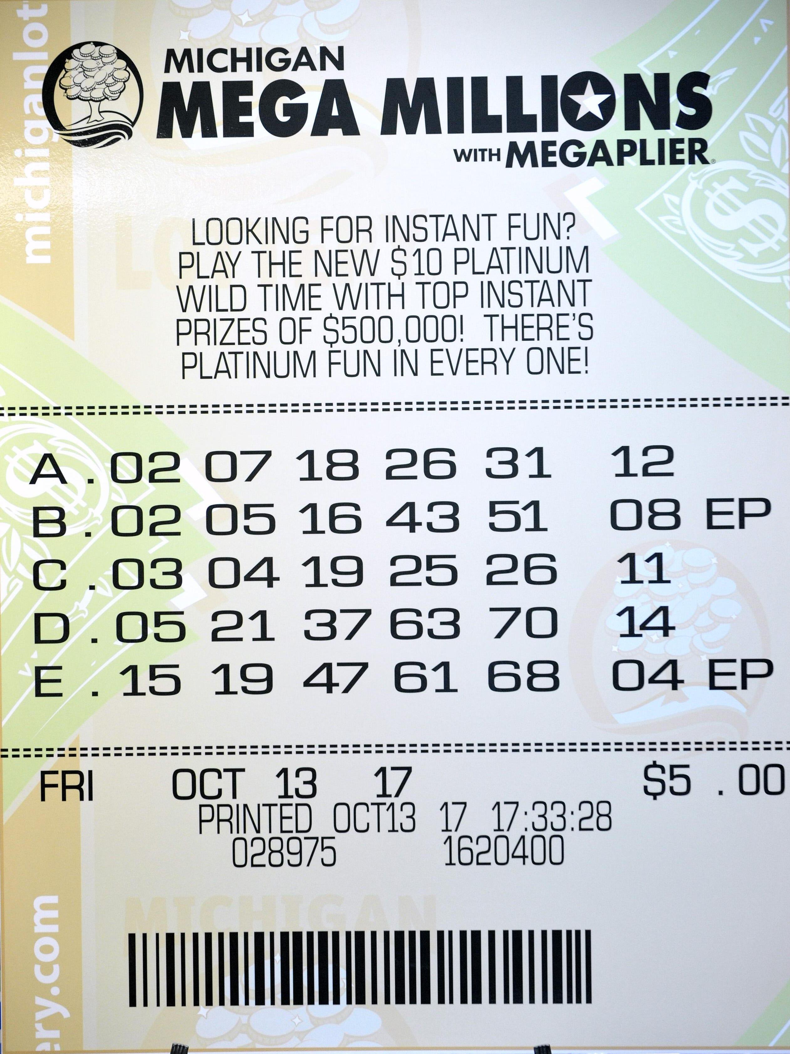 1m Mega Millions Ticket Sold In Wayne Co