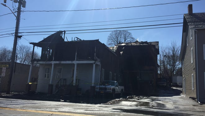 A fire early Saturday hit a Henry Street home.