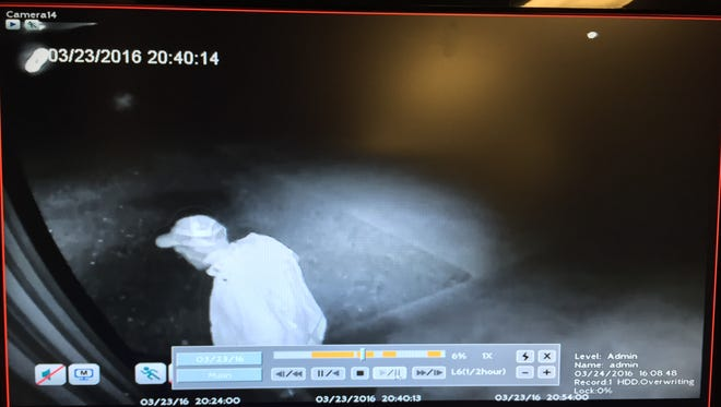 Montgomery County Sheriff's Office is asking for help identifying the burglary suspect shown in this security footage.