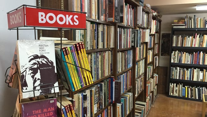 Guidon Books in Scottsdale specializes in Western literature and American history with more than 30,000 books.