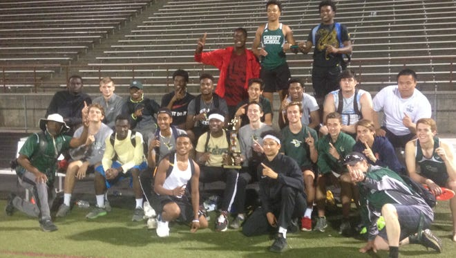 Christ School was the top boys team at Wednesday's Buncombe County track meet.
