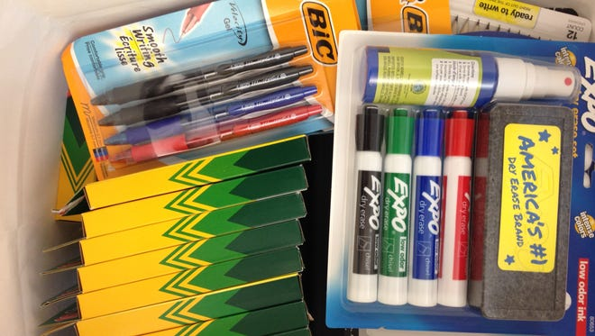 A master list of all your needed school supplies will help you save money in the long run.