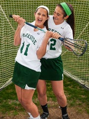 Parkside seniors Kelsey (11) and Alexis (12) Nock are