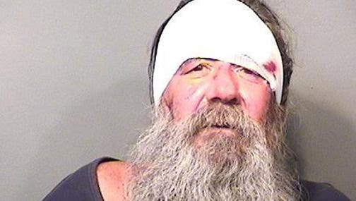 Ronny Scott Hicks, 54, was booked into the Palm Bay (Fla.) Police Department on Tuesday, Oct. 13, 2015, on a DUI charge. Police said he was in a motorized wheelchair.