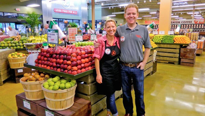 Former chefs Trish and Bo Sharon are founders of the Lucky's Market chain. Stores have an in-house bakery, house-made deli items, salad bar and more.