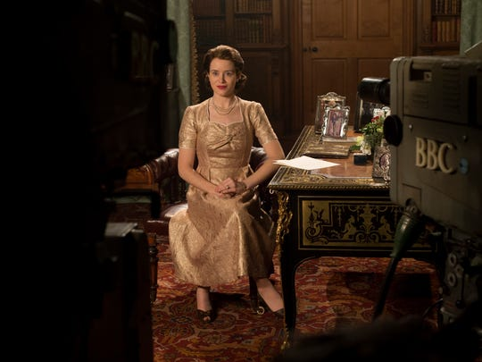Claire Foy as Elizabeth on 'The Crown.'