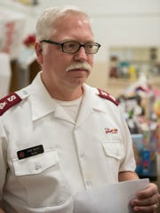 Salvation Army's Major Mike Wolfe.