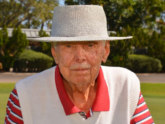"Norman ""Fuzzy"" Furbush, 88, still plays golf four times"